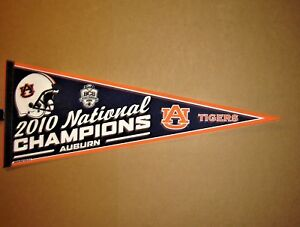 Auburn Pennant Throwback Vintage Banner