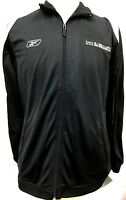 New Men Reebok Zip Up Sweat Track Jacket Gym Bay to Breakers 12M Run Jogging C76