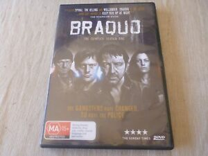 Braquo : Season 1 (DVD, 2012, 2-Disc Set) Region 4  Jean-Hugues Anglade