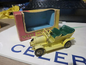 MATCHBOX MODELS OF YESTERYEAR Y16-1 SPYKER 1904. WITH BOX