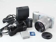 Sony Alpha NEX-3 14.2MP Digital Camera - Silver (Kit w/ E OSS 18-55mm Lens)