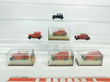 bk80-0, 5 #7x Brekina H0 / 1:87 Model : Opel P4 + DKW F7, Top