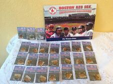 BOSTON RED SOX 2005 PENDANT COLLECTION BOSTON GLOBE (COMPLETE) MLB