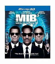 Men In Black 3 (3D Blu Ray & Blu-Ray) * NEW, SEALED, SLEEVED, FAST DISPATCH ! **