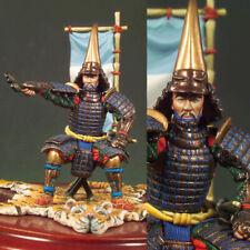 1/32 54mm Japan Samurai Commander Unpainted Resin Model Kits Statue Garage Kit