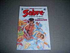 Sabre No. 9 Eclipse Comics Vol. 1 No. 9 April 1984  VF/NM 9.0