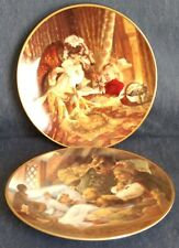 "Classic Fairy Tales ~ Collector Plates ~ ""Three Bears� & ""Red Riding Hood� ~1991"