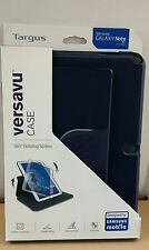 "Targus Versavu Samsung Galaxy NOTE 10.1"" 360 Rotating Case BLUE PACKAGING TATTY"
