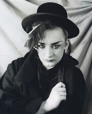 Boy George UNSIGNED photo - H310 - English singer, songwriter and DJ
