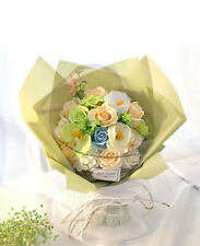 Je T'aime Preserved Fresh 18 Stems Mixed Roses Immortal Soap Flower With Lights