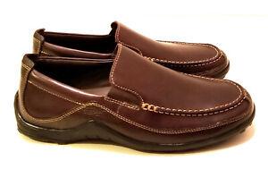 "Brand New Cole Haan Men's Shoes Brown ""Tucker Venetian"" Loafer Size 9W US"