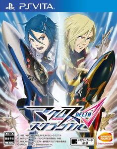 Ps Vita Macross Delta Scramble Bandai Namco Entertainment Jeu Japon Neuf