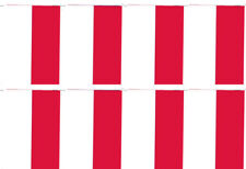 Monaco Country 12x18 Bunting String Flag Banner (8 Flags)
