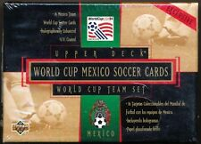 1994 Upper Deck World Cup MEXICO Soccer Factory Team Set Box
