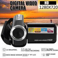 DV20 2'' LCD 720P 16MP HD Mini Digital Video Camera Camcorder Photo CMOS DVR Cam