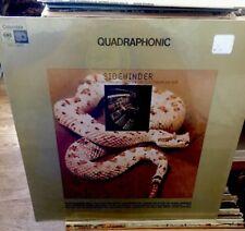 SIDEWINDER CREATED BY MORTON SUBOTNICK - QUADRAPHONIC COLUMBIA LP SEALED