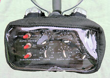 BLISSTOOL Metal Detector Pro-metallico nero cordura CONTROL BOX COVER