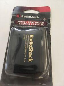 NEW RadioShack MiniDV Camcorder Cleaner  Care cleaning cassette 44-226 old stock