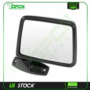 For 1983-1992 Ford RANGER BRONCO II Manual Mirror Black Manual Fold (Right)Side