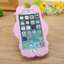 3D Hello Kitty Soft Silicone Back Rubber Case Cover For Apple iPhone 5 6 6S Plus
