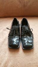 Mens Vintage Leather Upper Stacy Adams Shoes (Size 5 ½)