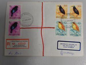 Vögel -Papua Neu Guinea- Brief Vögel