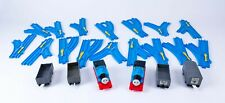 Tomy Trackmaster Thomas Blue Track with 2x Motorised Thomas and Carriages