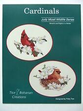 Male & Female Cardinals Cross Stitch Kit Tice Bohanan Creations Judy Mizel