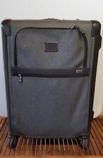 "Tumi Alpha 2 Short Trip Expandable 4 Wheel Packing Case Earl Grey  26"" ✅"