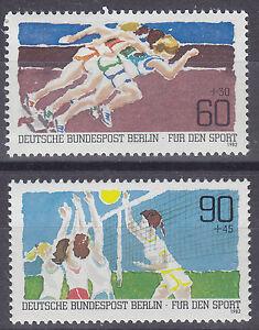 Germany (Berlin) 1982 Sport Promotion Fund Set UM SGB636-7 Cat £3.90