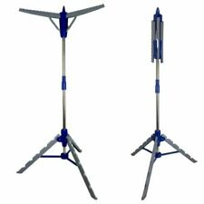 Clothes Airer Rail - Clothes Storage Dryer - Extendable Stand Camping Caravan