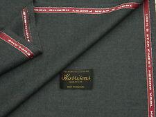 100% lana di ingresso siano consone Tessuto, stile vintage, grigio medio, costola Weave made in Inghilterra 3.5 m