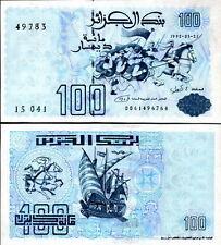 ALGERIA - 100 dinars 1992 FDS - UNC