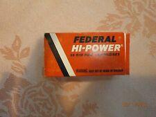 22 LR Federal Hi-Power 710 EMPTY ammo box collector long Rifle