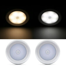 6LED Motion Sensor Light Wireless PIR Cabinet Stair Lamp Magnetic Night Lights