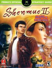 Shenmue II Prima's Official Strategy Guide (2002) Brand New Book Warehouse Stock