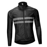 Windproof Bicycle Long-Sleeve Riding Jacket Road MTB Bike Sport Top Outfits