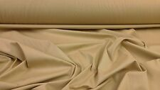 "Heavy Weight Quality Calico Canvas Drill Fabric Beige 162cm/63""  Wide"