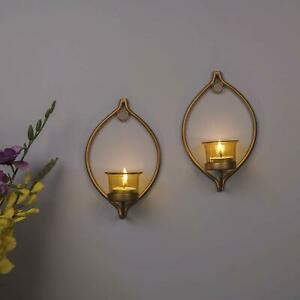 T-Light Candles Decorative Golden Eye Wall Sconce/Candle Holder
