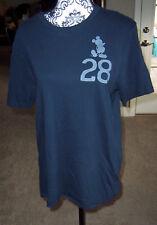 Nwt Junk Food men's size medium Mickey Mouse 28 t-shirt shirt navy blue New!