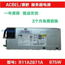 1PCS NEW ACBEL R11A2871A 875W Redundant Power Supply #Q7940 ZX