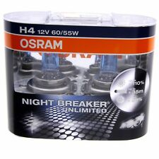 H4 OSRAM Night Breaker Unlimited 110% mehr Licht 64193NBU-HCB DUO Box Set 2 Stk