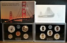 2018-S Silver Reverse Proof Set with 10 Reverse Proof Coins