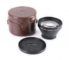 TOPCON 80/4 AUXILIARY LENS, WITH CAPS AND CASE (FOR 49MM THREAD LENS)/203516