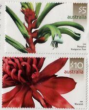 Australia,Scott#2491-2492 ,Mnh,Australian Flowers,Scott=$38
