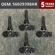 4pcs 433mhznew Tire Pressure Sensor Tpms 56029398ab For Ram 1500 2500 2011 2013 Fits Dodge Ram 1500