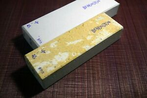 Japanese Natural Whetstone Amakusa 1082g - Grit 800 from Kumamoto pref. Japan