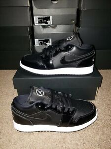 Nike Air Jordan 1 Low SE GS ASW All Star 2021 Size 7Y DD2191-001 Black White