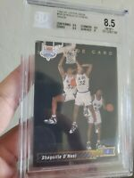 1992-93 Upper Deck #1 Shaquille O'Neal Rookie RC HOF BGS 8.5 NM-MT+ Magic