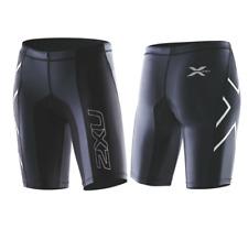2XU - Women's Elite Compression Short (WA1935b-BLK/ STL) Size: L - 60% Off